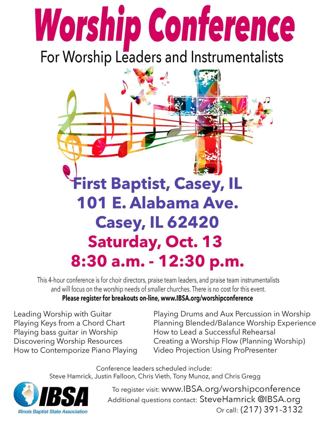 Worship Conference October 2018