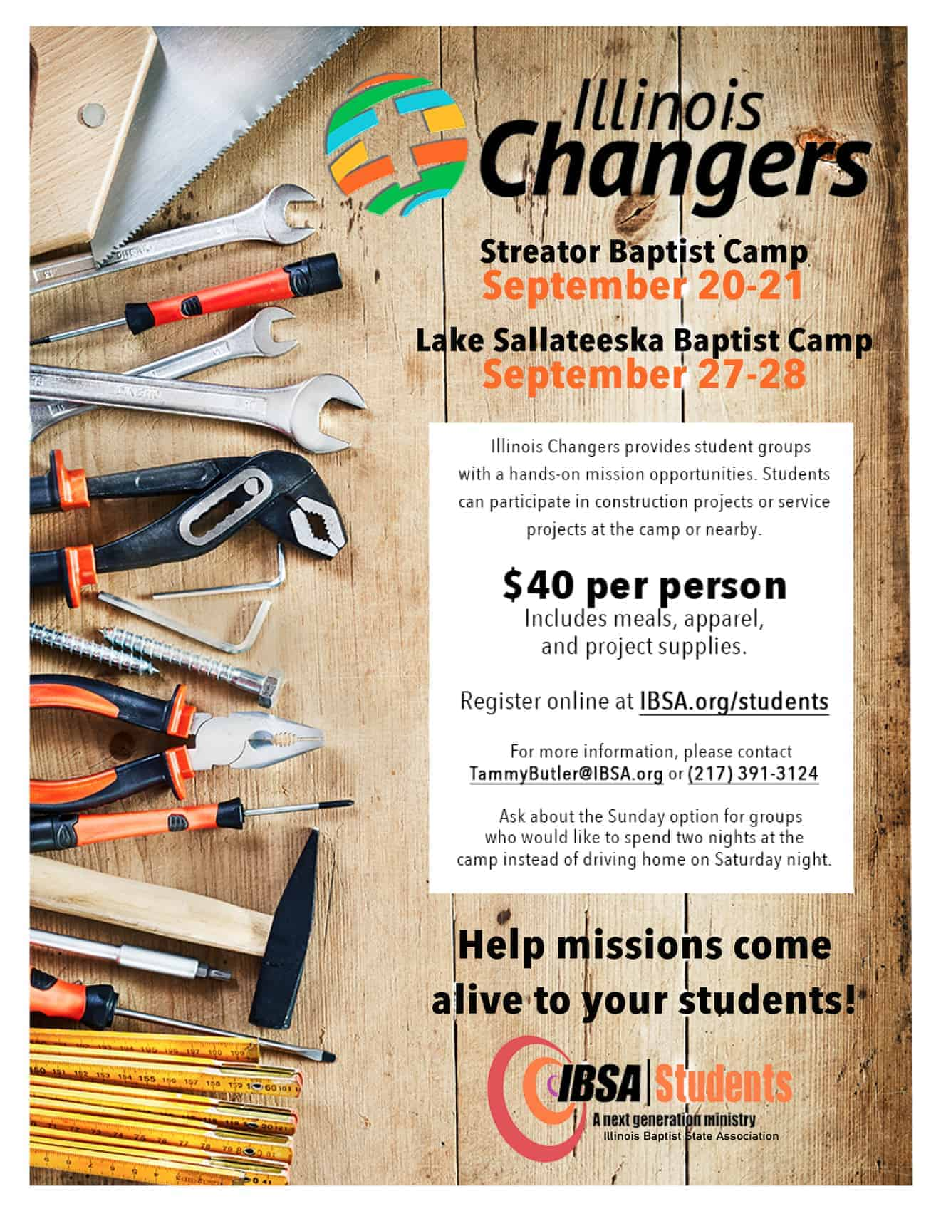IL Changers September 2019