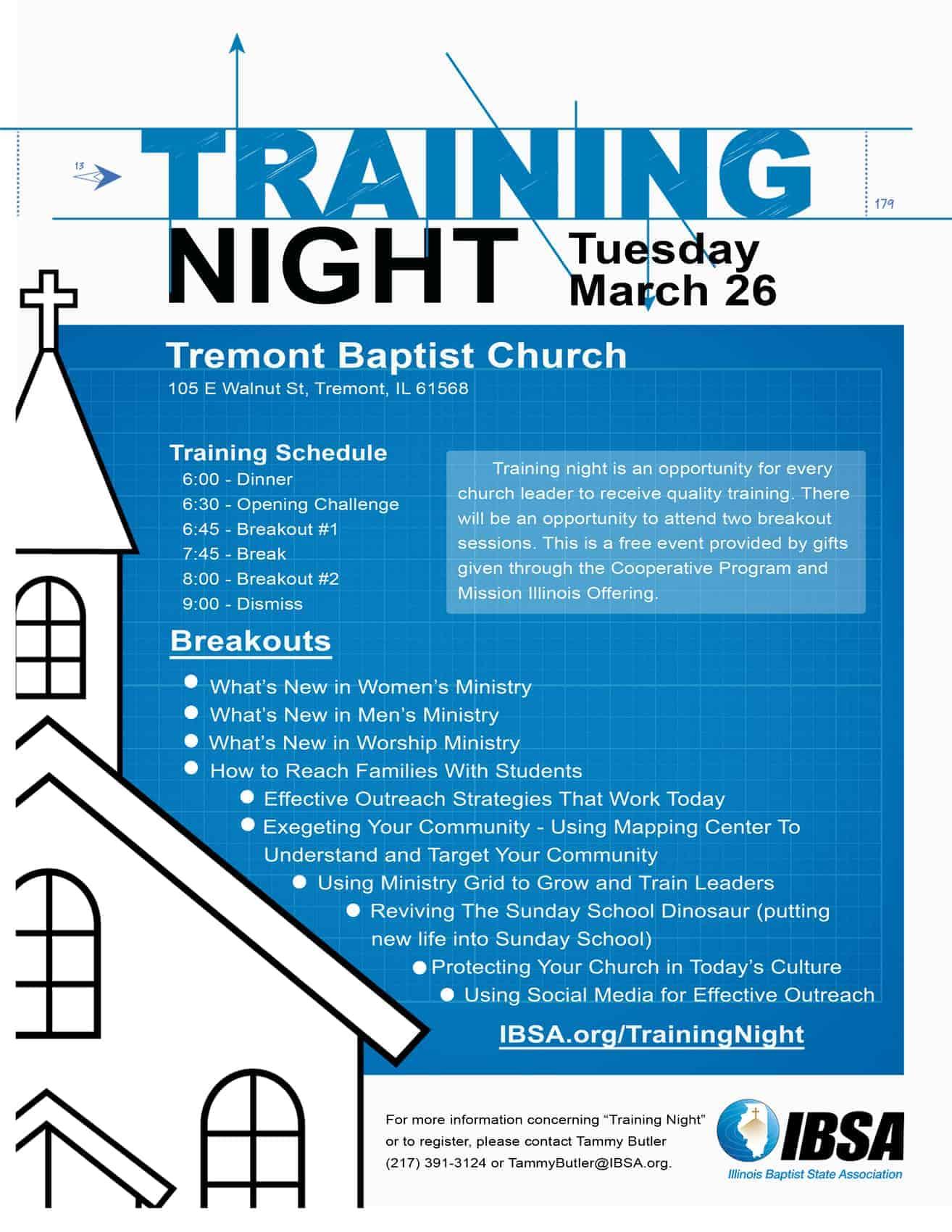 Training Night 19 Tremont BC