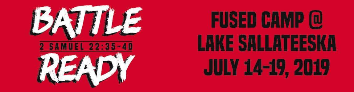 Battle Ready Student Camp Week 2 2019 Banner