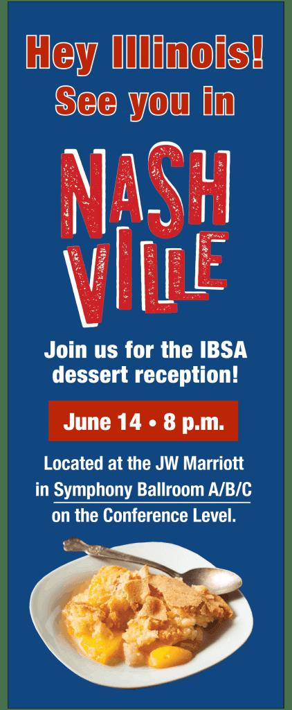 IBSA Dessert Reception